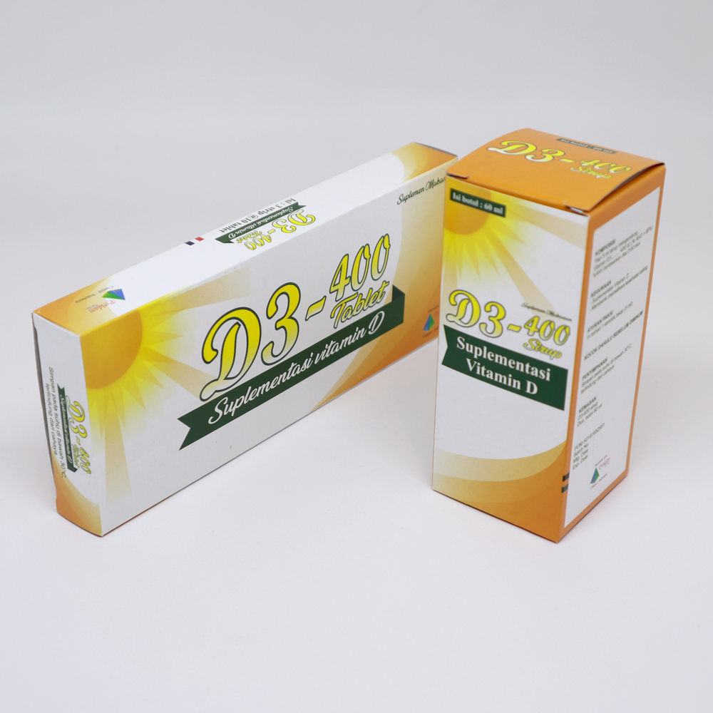 D3-400 Tablet & D3-400 Syrup